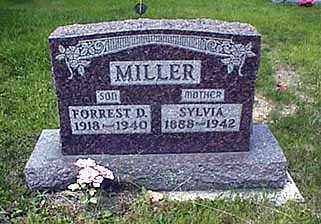 MILLER, SYLVIA MAY CATHERINE - Darke County, Ohio | SYLVIA MAY CATHERINE MILLER - Ohio Gravestone Photos