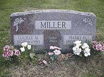 MILLER, LUCILLE MILDRED - Darke County, Ohio | LUCILLE MILDRED MILLER - Ohio Gravestone Photos