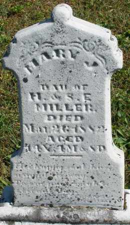 MILLER, MARY J. - Darke County, Ohio | MARY J. MILLER - Ohio Gravestone Photos