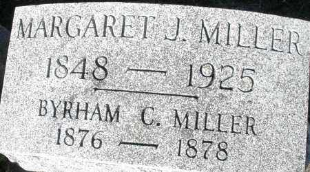 MILLER, MARGARET J. - Darke County, Ohio | MARGARET J. MILLER - Ohio Gravestone Photos