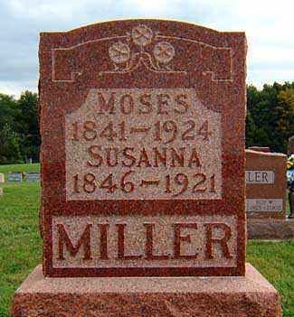MILLER, SUSANNAH - Darke County, Ohio | SUSANNAH MILLER - Ohio Gravestone Photos