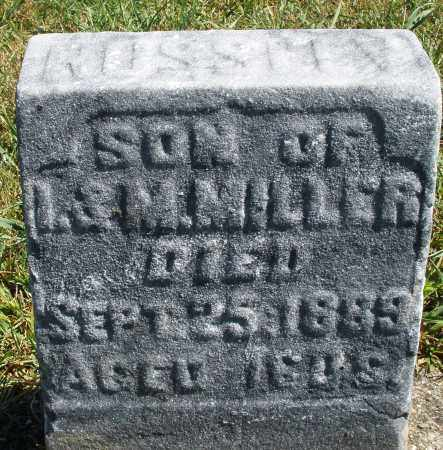 MILLER, ROSS - Darke County, Ohio | ROSS MILLER - Ohio Gravestone Photos