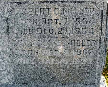 MILLER, ROBERT O. - Darke County, Ohio | ROBERT O. MILLER - Ohio Gravestone Photos