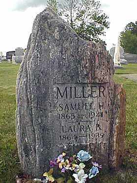 MILLER, SAMUEL HARVEY - Darke County, Ohio | SAMUEL HARVEY MILLER - Ohio Gravestone Photos