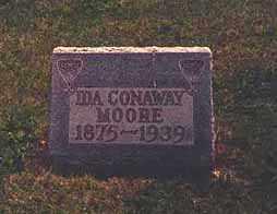 CONAWAY MOORE, IDA ELIZABETH - Darke County, Ohio | IDA ELIZABETH CONAWAY MOORE - Ohio Gravestone Photos
