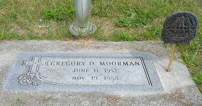 MOORMAN, GREGORY D. - Darke County, Ohio | GREGORY D. MOORMAN - Ohio Gravestone Photos