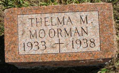 MOORMAN, THELMA M. - Darke County, Ohio | THELMA M. MOORMAN - Ohio Gravestone Photos