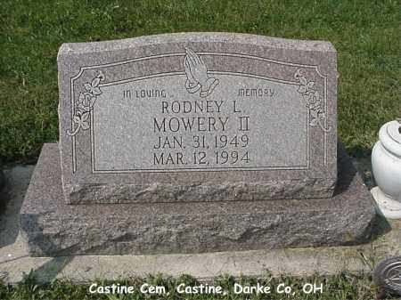 MOWERY, II, RODNEY - Darke County, Ohio | RODNEY MOWERY, II - Ohio Gravestone Photos