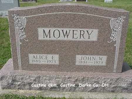 MOWERY, ALICE - Darke County, Ohio | ALICE MOWERY - Ohio Gravestone Photos