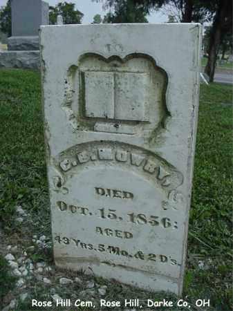 MOWRY, CHRISTIAN - Darke County, Ohio   CHRISTIAN MOWRY - Ohio Gravestone Photos