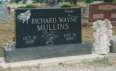 MULLINS, RICHARD WAYNE - Darke County, Ohio | RICHARD WAYNE MULLINS - Ohio Gravestone Photos