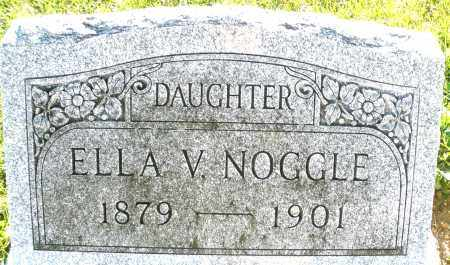 NOOGLE, ELLA V. - Darke County, Ohio | ELLA V. NOOGLE - Ohio Gravestone Photos