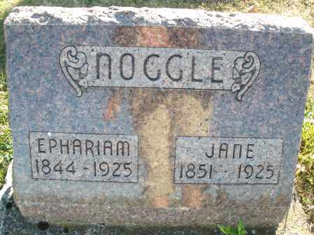 NOOGLE, EPHARIAM - Darke County, Ohio | EPHARIAM NOOGLE - Ohio Gravestone Photos