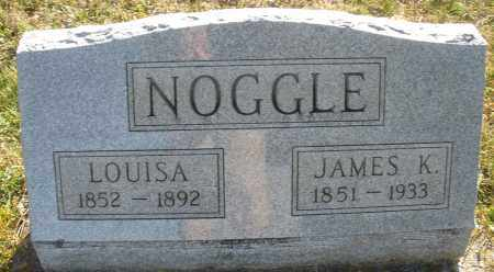 NOOGLE, JAMES K. - Darke County, Ohio | JAMES K. NOOGLE - Ohio Gravestone Photos