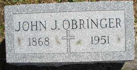 OBRINGER, JOHN J. - Darke County, Ohio | JOHN J. OBRINGER - Ohio Gravestone Photos