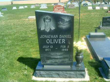 OLIVER, JONATHAN DANIEL - Darke County, Ohio | JONATHAN DANIEL OLIVER - Ohio Gravestone Photos