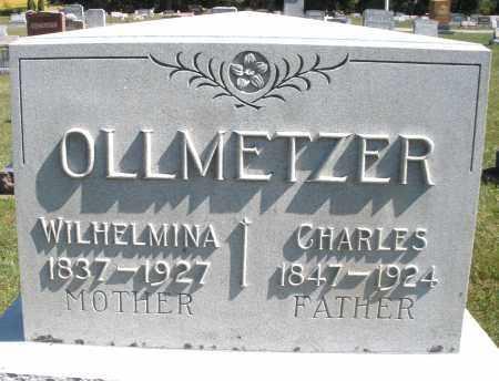 OLLMETZER, WILHELMINA - Darke County, Ohio | WILHELMINA OLLMETZER - Ohio Gravestone Photos