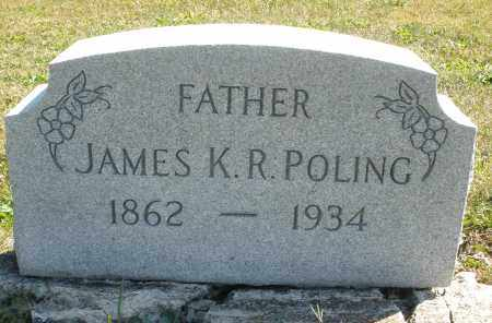 POLING, JAMES K.R. - Darke County, Ohio | JAMES K.R. POLING - Ohio Gravestone Photos