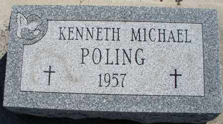 POLING, KENNETH MICHAEL - Darke County, Ohio | KENNETH MICHAEL POLING - Ohio Gravestone Photos