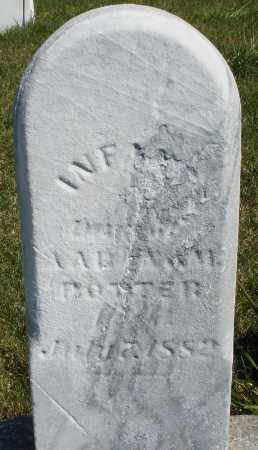 POTTER, INFANT DAUGHTER - Darke County, Ohio | INFANT DAUGHTER POTTER - Ohio Gravestone Photos