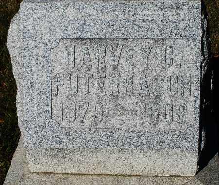 PUTERBAUGH, HARVEY C, - Darke County, Ohio | HARVEY C, PUTERBAUGH - Ohio Gravestone Photos