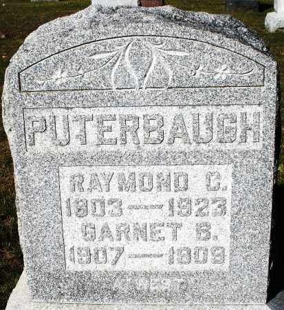 PUTERBAUGH, GARNET B. - Darke County, Ohio | GARNET B. PUTERBAUGH - Ohio Gravestone Photos