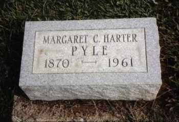 HARTER PYLE, MARGARET C. - Darke County, Ohio | MARGARET C. HARTER PYLE - Ohio Gravestone Photos