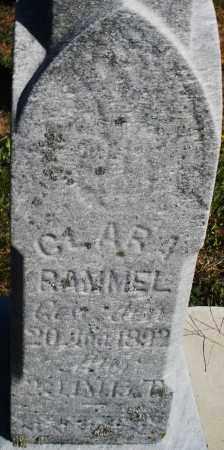 RAMMEL, CLARA - Darke County, Ohio | CLARA RAMMEL - Ohio Gravestone Photos