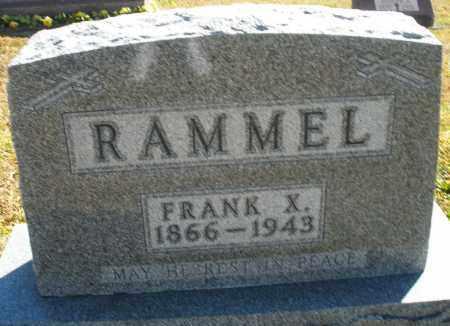 RAMMELL, FRANK X. - Darke County, Ohio | FRANK X. RAMMELL - Ohio Gravestone Photos