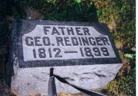 REDINGER, GEORGE - Darke County, Ohio | GEORGE REDINGER - Ohio Gravestone Photos