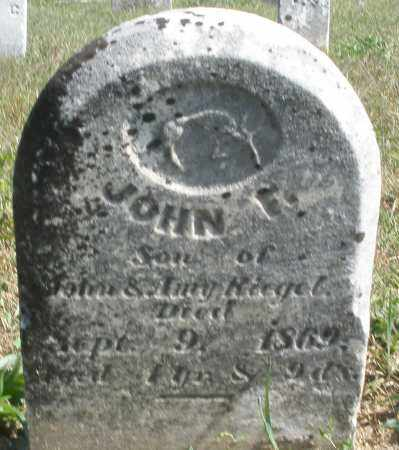 RIEGEL, JOHN - Darke County, Ohio | JOHN RIEGEL - Ohio Gravestone Photos