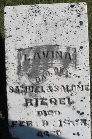 RIEGEL, LAVINA - Darke County, Ohio   LAVINA RIEGEL - Ohio Gravestone Photos
