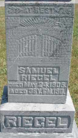 RIEGEL, SAMUEL - Darke County, Ohio | SAMUEL RIEGEL - Ohio Gravestone Photos