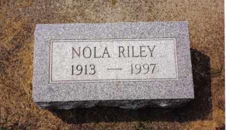 RILEY, NOLA - Darke County, Ohio | NOLA RILEY - Ohio Gravestone Photos