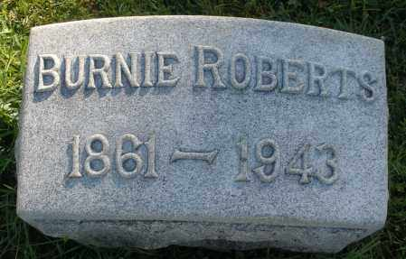 ROBERTS, BURNIE - Darke County, Ohio | BURNIE ROBERTS - Ohio Gravestone Photos