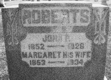ROBERTS, MARGARET - Darke County, Ohio | MARGARET ROBERTS - Ohio Gravestone Photos