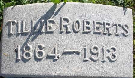 ROBERTS, TILLIE - Darke County, Ohio | TILLIE ROBERTS - Ohio Gravestone Photos