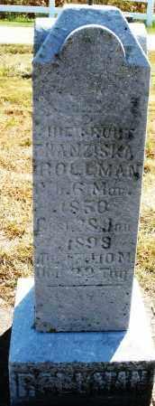 ROLLMAN, HIENROUT H. ? - Darke County, Ohio | HIENROUT H. ? ROLLMAN - Ohio Gravestone Photos