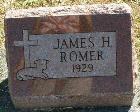 ROMER, JAMES H. - Darke County, Ohio | JAMES H. ROMER - Ohio Gravestone Photos