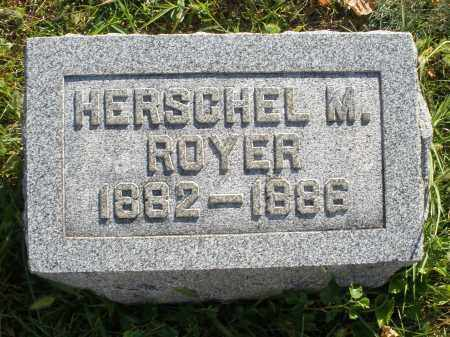 ROYER, HERSCHEL M. - Darke County, Ohio | HERSCHEL M. ROYER - Ohio Gravestone Photos