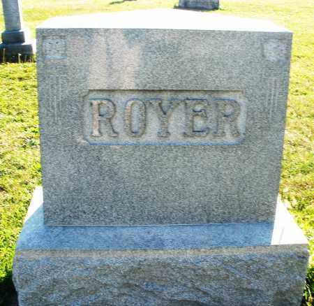 ROYER, MONUMENT - Darke County, Ohio | MONUMENT ROYER - Ohio Gravestone Photos