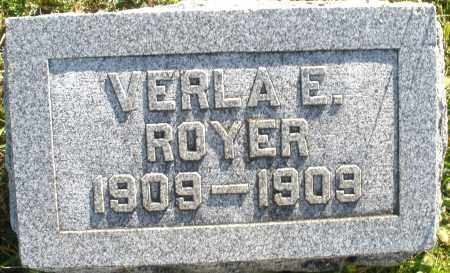 ROYER, VERLA E. - Darke County, Ohio | VERLA E. ROYER - Ohio Gravestone Photos