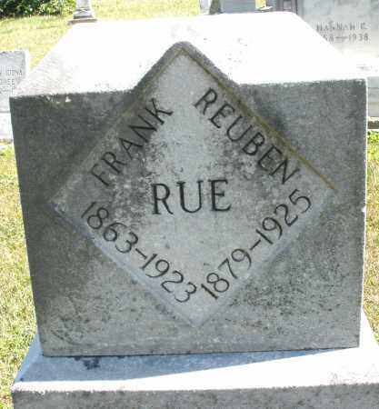 RUE, FRANK - Darke County, Ohio | FRANK RUE - Ohio Gravestone Photos