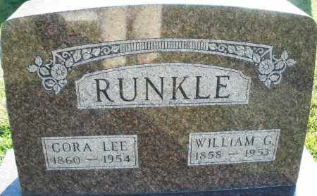 RUNKLE, CORA LEE - Darke County, Ohio | CORA LEE RUNKLE - Ohio Gravestone Photos