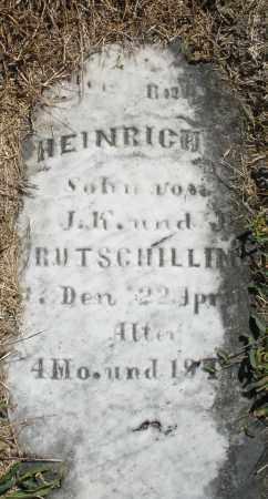 RUTSCHILLING, HEINRICH - Darke County, Ohio | HEINRICH RUTSCHILLING - Ohio Gravestone Photos