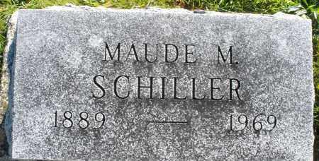 SCHILLER, MAUDE M. - Darke County, Ohio | MAUDE M. SCHILLER - Ohio Gravestone Photos