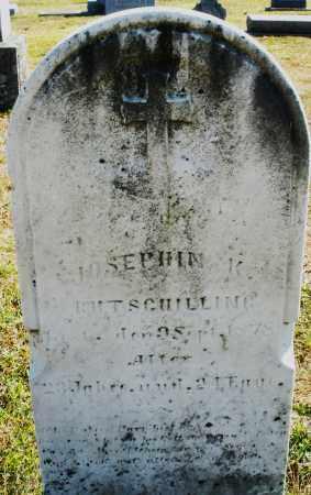 RUTSCHILLING, JOSEPHINE K. - Darke County, Ohio | JOSEPHINE K. RUTSCHILLING - Ohio Gravestone Photos