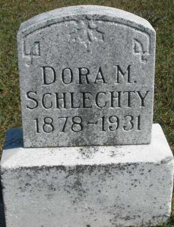 SCHLECHTY, DORA M. - Darke County, Ohio | DORA M. SCHLECHTY - Ohio Gravestone Photos