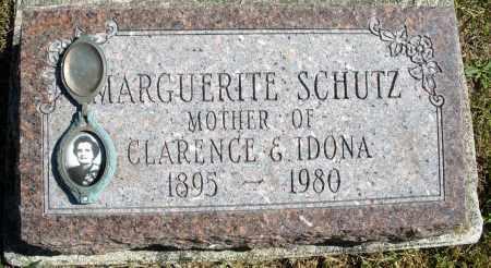 SCHUTZ, MARGUERITE - Darke County, Ohio | MARGUERITE SCHUTZ - Ohio Gravestone Photos