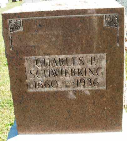 SCHWIERKING, CHARLES P. - Darke County, Ohio | CHARLES P. SCHWIERKING - Ohio Gravestone Photos